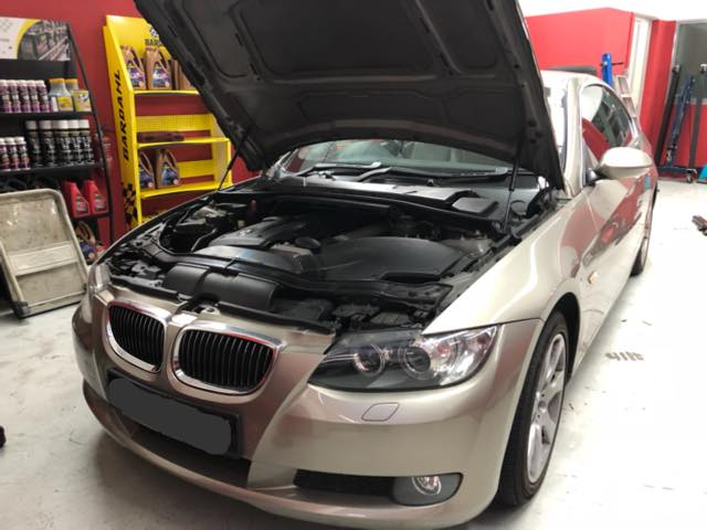 BMW repair in ECV workshop