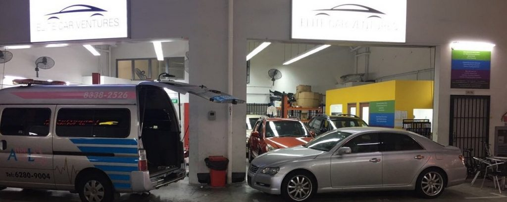 ECV car workshop