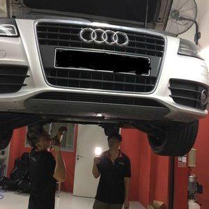 Car maintenance at our car workshop